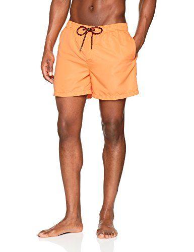 b3aea006bfeeaf Jack   Jones Jjisunset Swim AKM Noos Short Homme Orange (Nectarine  Nectarine) Large