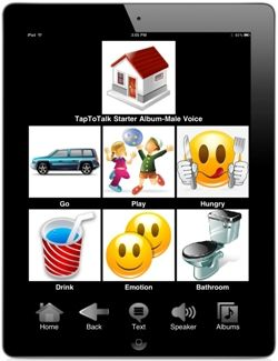 Tap To Talk: AAC for autism, Down syndrome, apraxia, cerebral palsy, aphasia, any non-verbal condition