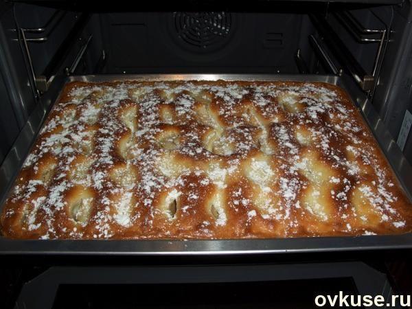 Пирог с яблоками! просто пирожное