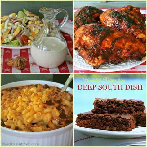 A Southern Summer Supper with Mary Foreman   Deep South Dish   & Cookbook Giveaway!
