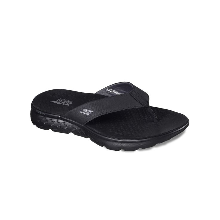 Skechers On the Go 400 Shore Men's Sandals, Size: 13, Dark Grey