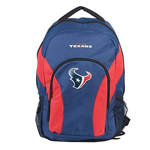 NFL Houston Texans DraftDay Backpack, 18-Inch, Navy