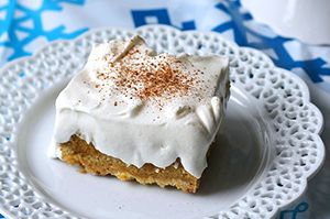 If you like pumpkin cake and cheesecake, you must try this simple (and simply scrumptious) dessert recipe.