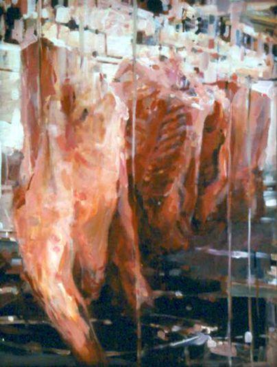 Meat, 1999 | Alex Kanevsky (b1963 Rostov, USSR; of Lithuanian descent; since 1983 based in PA, US)