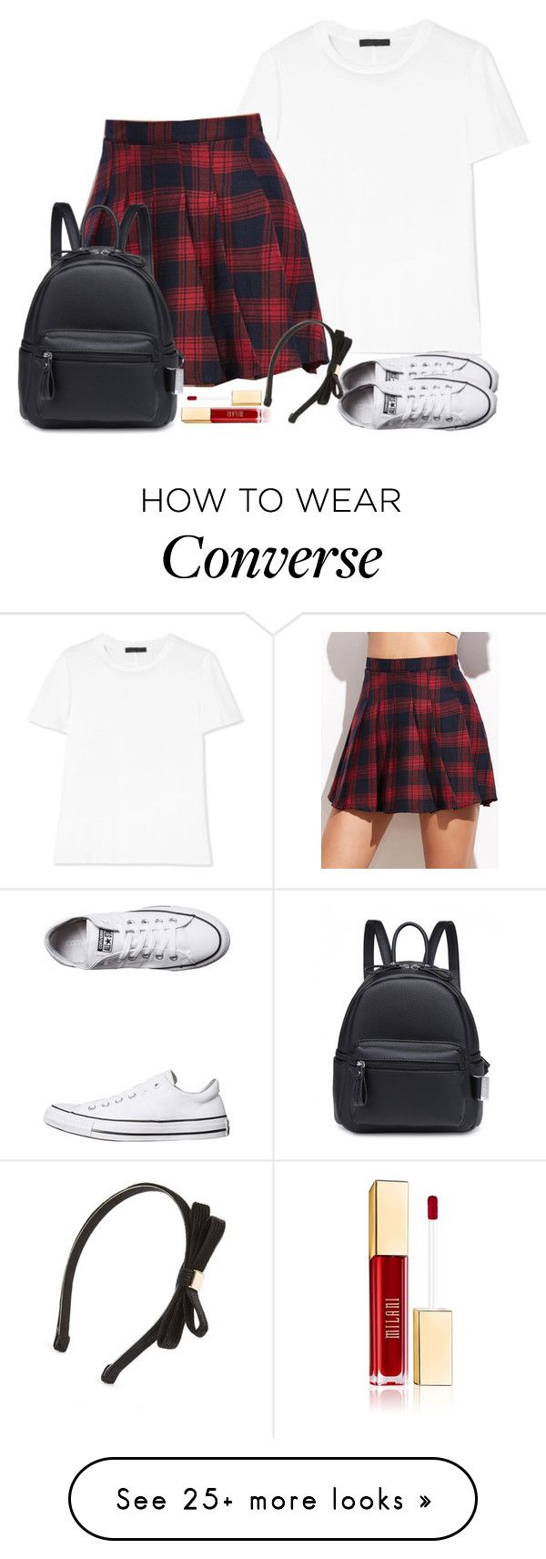 """nymphet"" by wafflez-cry-syrup on Polyvore featuring The Row, Converse and Tasha"
