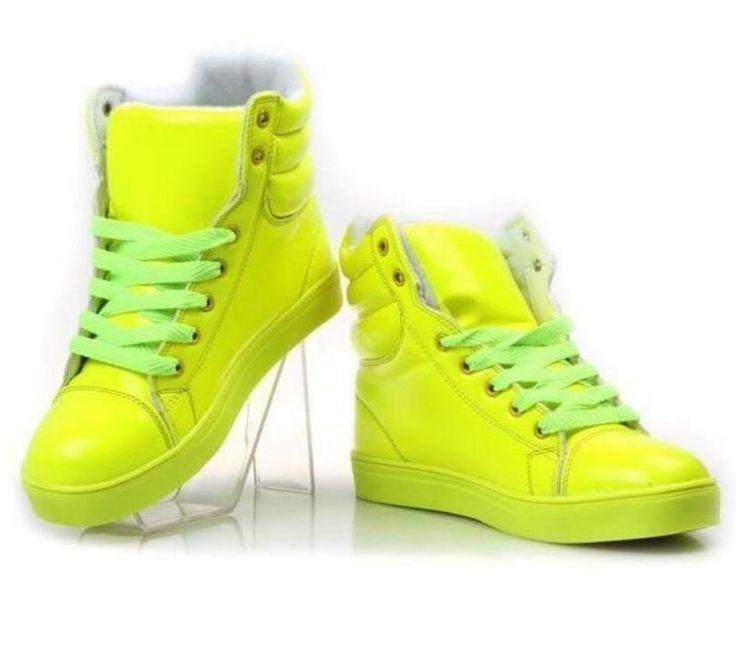 Women Candy Lace Up Hip Hop Shoes Casual Round Toe Sports Creeper Sneakers