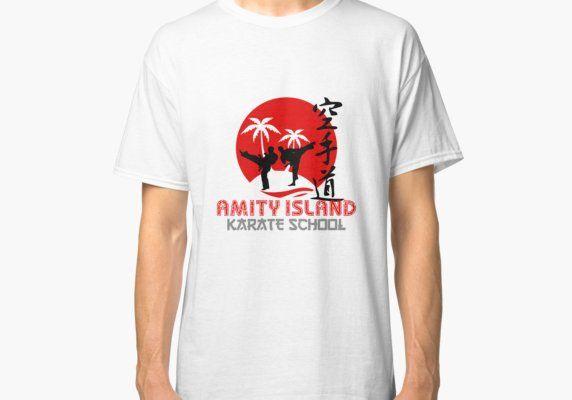 Amity Island Karate School : Inspired by Jaws #beachgifts #beach #gifts #gift Ideas