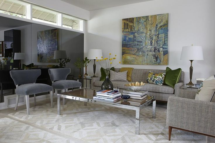 Living room pillow inspiration: two large velvet, one multi-color, one neutral.  Blanket in complementary color