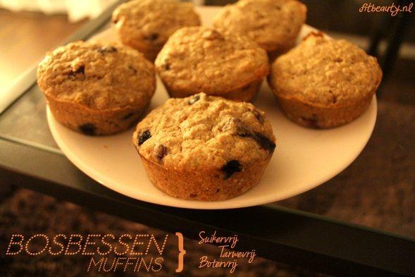 Het LEKKERSTE en gezondste muffin recept ooit! Het huis ruikt zoo lekker nu! Bosbessen muffins zonder boter, suiker en tarwe. Hoe is het toch mogelijk! Hmmm