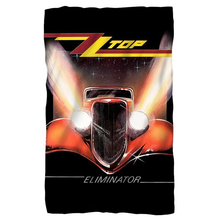 ZZ Top - Eliminator Cover Polar Fleece Blanket
