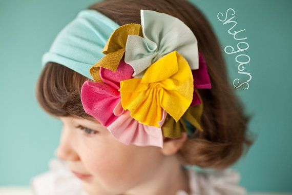 Garden Party Snugar headband: Party Snugar, Party'S, Garden Party, Gardens, Garden Parties, Baby, Hair