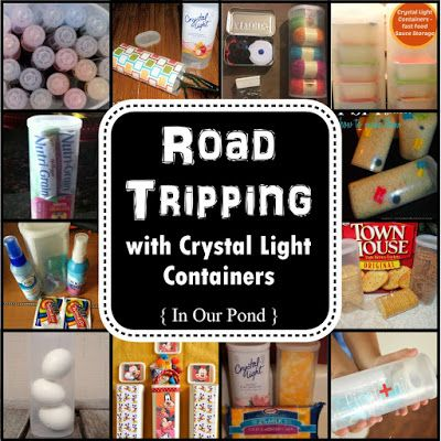 In Our Pond: Road Tripping with Crystal Light Containers