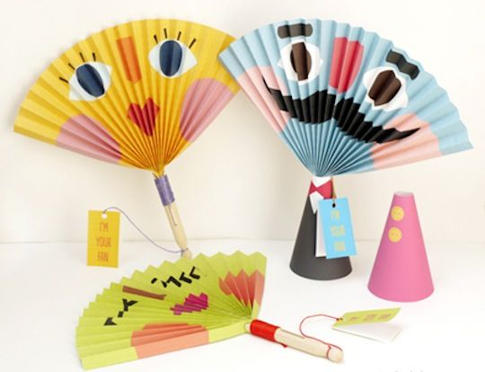Mr. Printables DIY Paper Fans