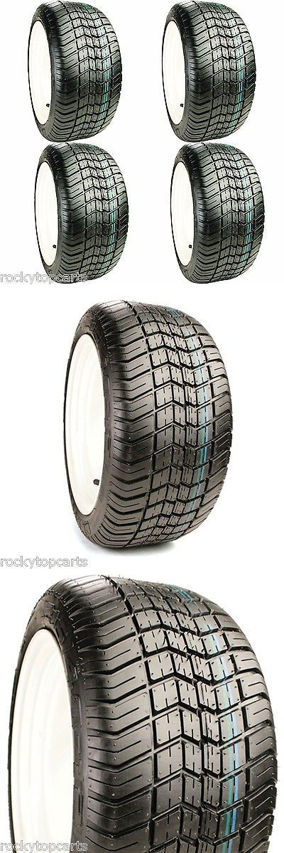 Other Golf 630: Golf Cart Tires Set Of 4 - 255 50-12 Excel Classic 4-Ply Street (Lift Required) -> BUY IT NOW ONLY: $295.96 on eBay!