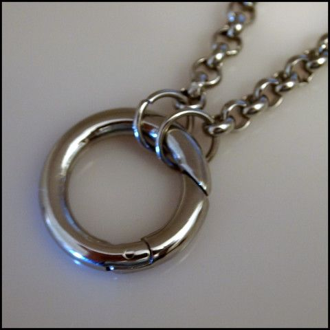 Silver Rolo Chain for Living Locket | Latest fashion jewellery from around the world