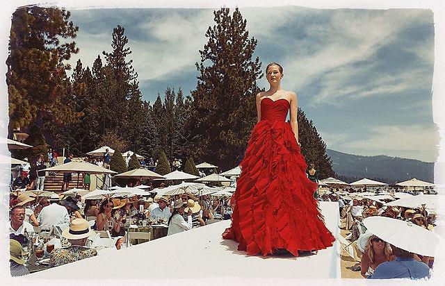 Saks Fifth Avenue presents Oscar de la Renta on Lake Tahoe 2012