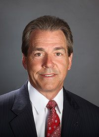 The Maxwell Football Club today announced that University of Alabama Head Coach Nick Saban has been selected as the George Munger Collegiate Coach of the Year Award winner for the 2016 season. Saban has led the Crimson Tide to a 14-0 record and a No. 1 ranking heading into Monday night's National Championship game versus Clemson.