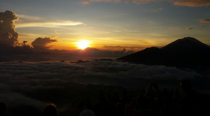 With moderate level hiking and overlooks the beautiful sunrise, mount Batur sunrise trekking could b