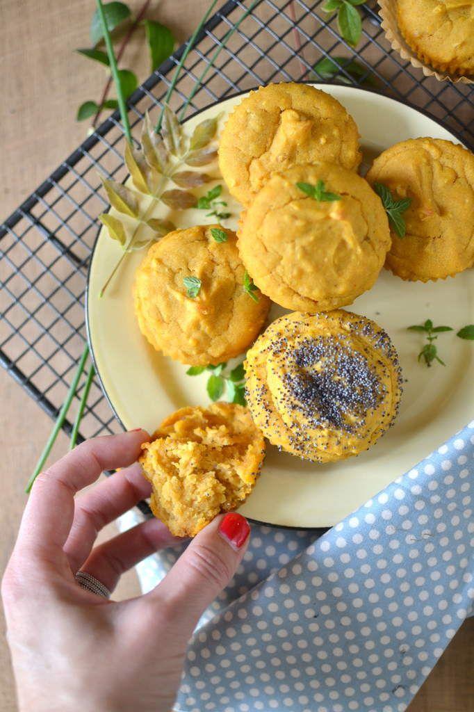 Muffins à la patate douce et au cumin, sans caséine et sans gluten