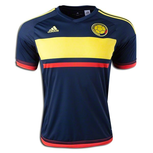 2015 Copa America Colombia Away Soccer Jersey