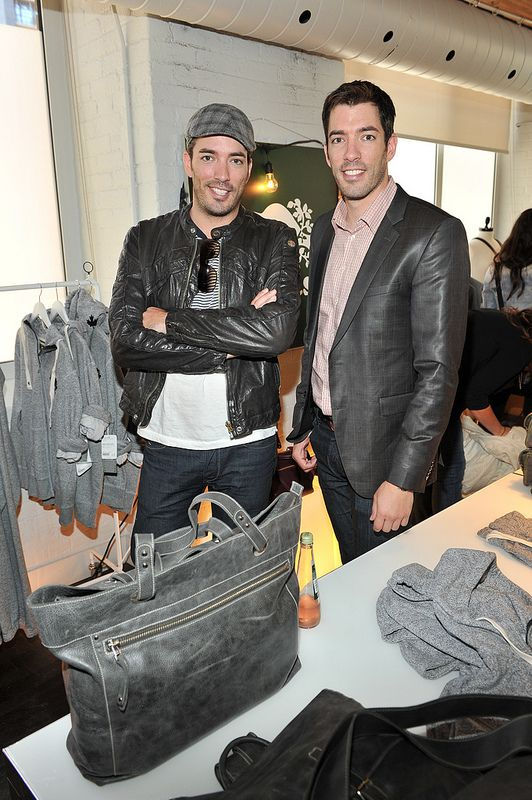Jonathan and Drew Scott from Property Brothers at the NKPR IT Lounge for #TIFF13