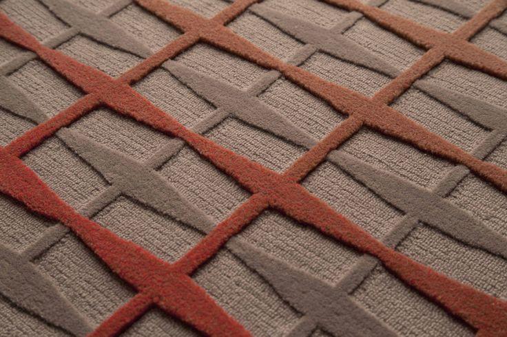 Radiance BO3, Antho10gy, Tai Ping #Antho10gy #Radiance #Red #Rouge #BestOf #Contemporary #Luxury #Rug #Carpet #Tapis #Design #InteriorDesign #Deco #Art #Bespoke #Custom #Unique #HandTuft #HandMade #HandCrafted #Artisans #RugsCreatedByUs #TaiPing #HouseOfTaiPing
