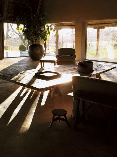 Living Room #home #decor #interior #design #rustic #natural #industrial #simple #tranquil #earthy #neutral #zen #old #worn #vintage #weathered #wabisabi #peaceful