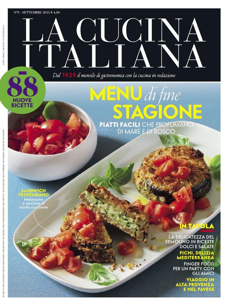 La cucina italiana settembre 2015