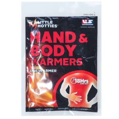 When you're working in cold conditions or sitting in the stands rooting for your favorite football team, you can't always build a bonfire to warm your hands. Both your boss and stadium security would probably frown on that. Just grab some of these Little Hotties HANDNBODYWRMR Hand And Body Warmer. #workingperson #brandsthatwork #tailgate #tailgating #football #footballseason #littlehotties #workhard #cozy #fall #autumn #handwarmers…