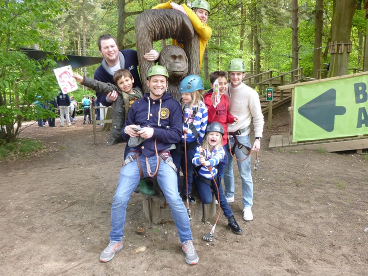 I'm a Celebrity... Get Me Out Of Here! Winner Joe Swash swang by to see us at Thetford. Here he is with his Tribe after completing our Tree Top Junior Adventure.