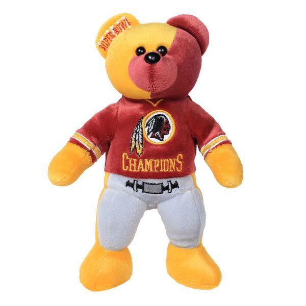 Washington Redskins Super Bowl XXII Champions Thematic Bear