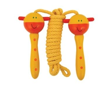 Keycraft | Clearance | Wooden Handle Skipping Rope