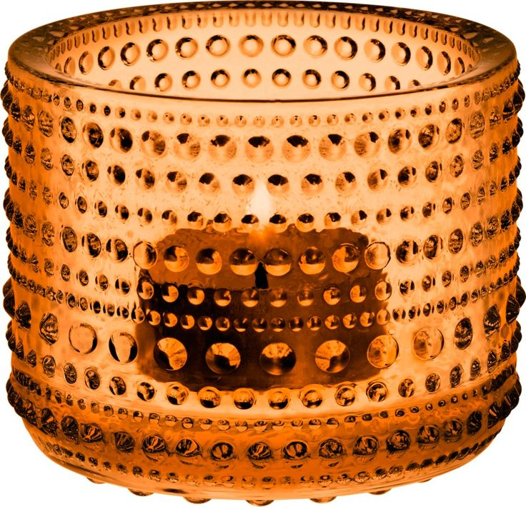 Iittala - Kastehelmi Votive 64 mm seville orange - Iittala.com