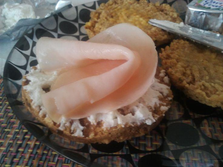 ¡¡¡¡No quiero volver a estar gorda nunca más!!!!: Tostadas crujientes Dukan (Panenstein) de atún y tofu
