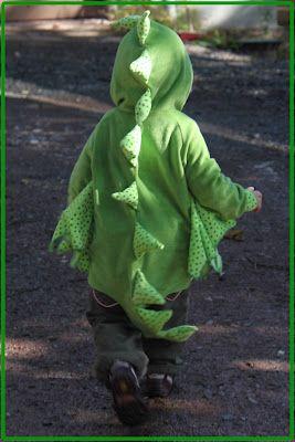 kleiner grüner Drache