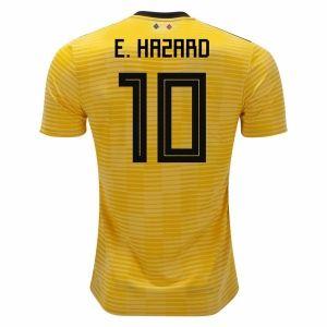 e5acf10e16b 2018 Belgium Hazard World Cup Away Jersey  M273