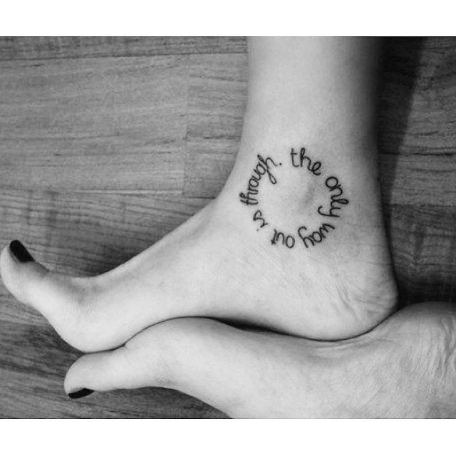 Nothing is more moving than a perfect quote that encapsulates a sentiment that means something special to you. Here are some of the most beautiful and motivational quote tattoos that will change your life for the better.