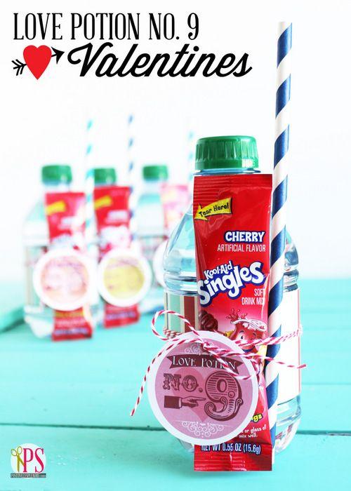Love Potion Number 9 Valentines