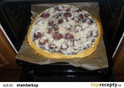 Makový koláč se švestkami recept - TopRecepty.cz