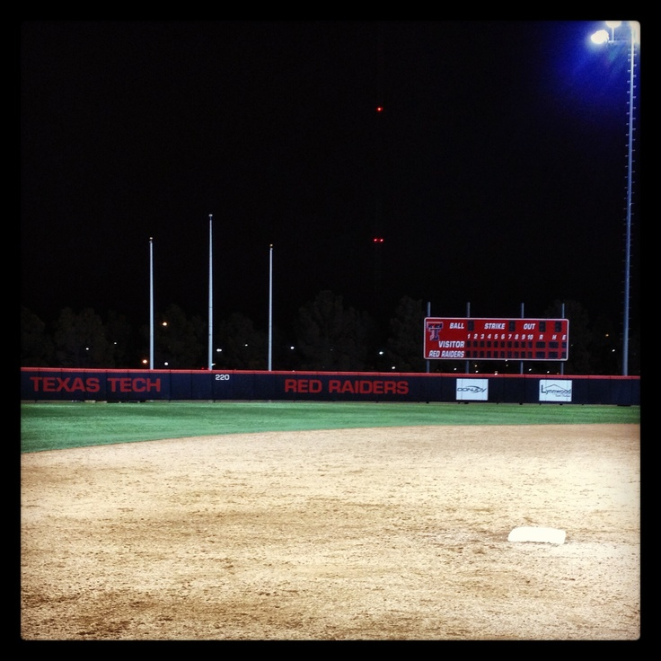 Texas Tech Softball Field...on our way tomorrow!!