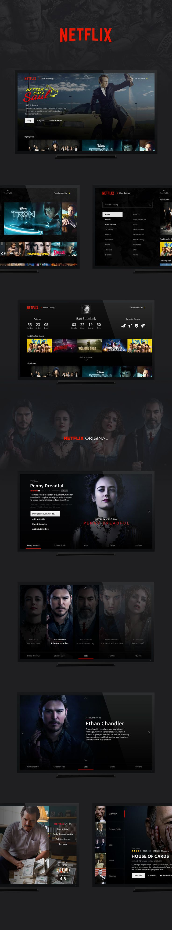 netflix concept https://dribbble.com/shots/2237822-Netflix-Exploration