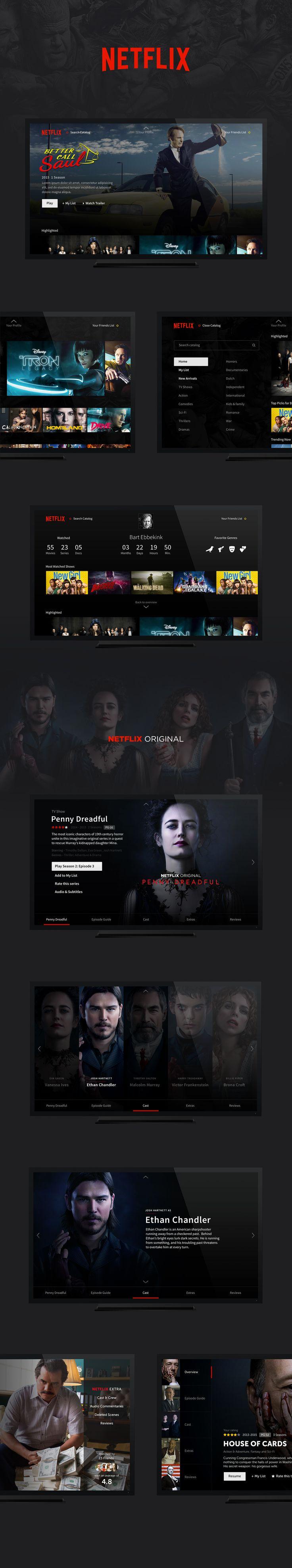 netflix concept https://dribbble.com/shots/2237822-Netflix-Exploration