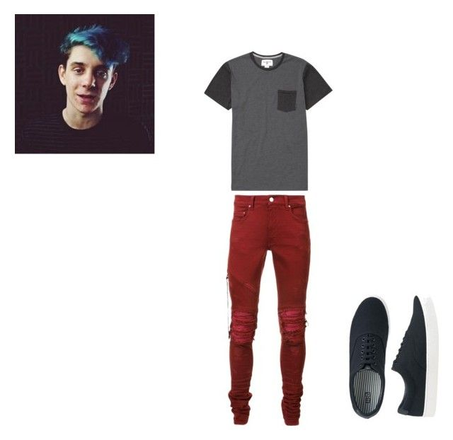 """Ethan Nestor"" by joshua-redgrove ❤ liked on Polyvore featuring Billabong, AMIRI, Uniqlo, men's fashion and menswear"
