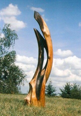 Holz-Skulptur