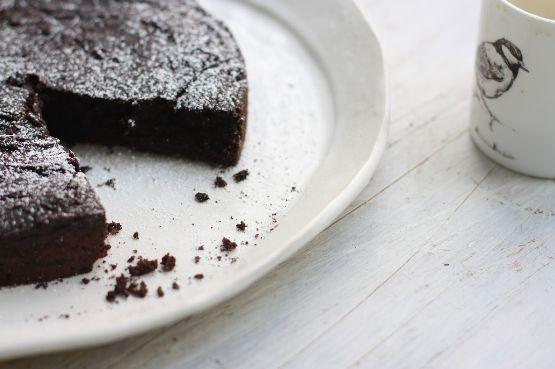Vegan Dark Chocolate Avocado Beet Cake - Candice Kumai