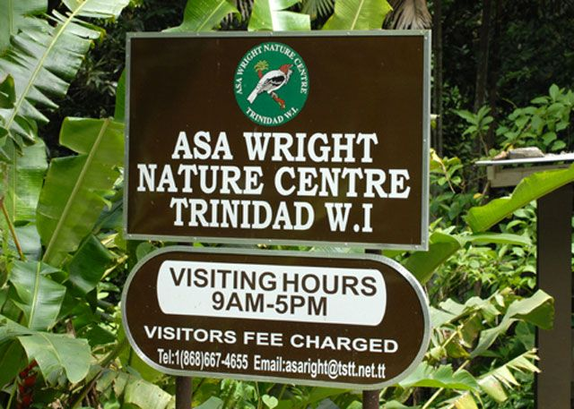 Arima - Trinidad and Tobago (Trinidad Island)  Asa Wright Nature Centre  Nature Speak for Itself
