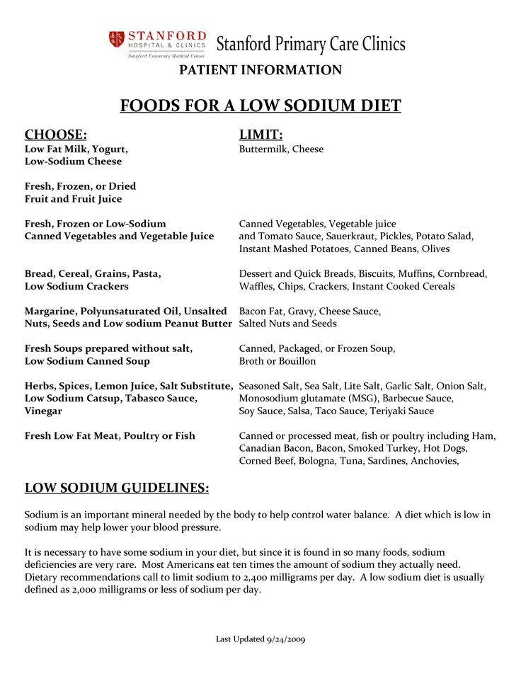 36 best Low Sodium for Dad images on Pinterest High sodium foods - how to prepare a sop format