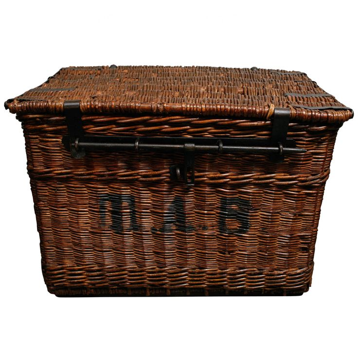 Auto Antique Wicker Trunks : Images about wonderful world of wicker trunks