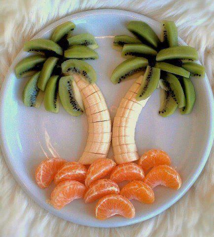 Fun summer snack.