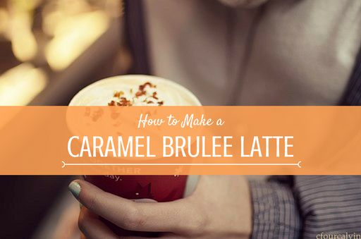 Save your pennies over Christmas and stop going to Starbucks, just learn how to make this Caramel Brulee Latte at home and you won't ever feel the need to spend £4 on a coffee ever again!😉 #HowToCoffee